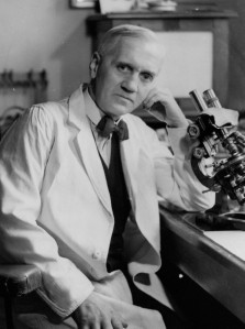 NPG x136472; Alexander Fleming by Howard Coster