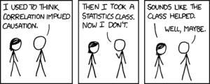 correlation vs causation comic