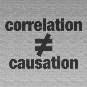 correlation≠causation